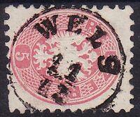 1864 5Kr, WELS (Oö) Stempel. Schön!