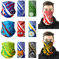 Football Face Mask Scarf Bandana Neck Protection Dad Gift Birthday Match Day