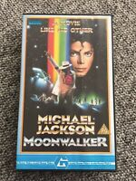 Michael Jackson Moonwalker UK VHS Video Guild Home Video Case
