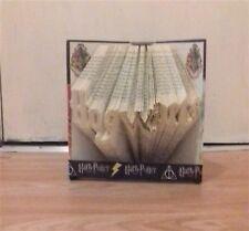 Book Folding PATTERN  Measure, Mark and Fold, Harry Potter, Hogwarts