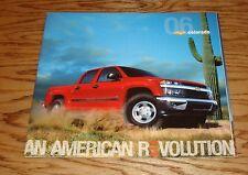 Original 2006 Chevrolet Colorado Deluxe Sales Brochure 06 Chevy