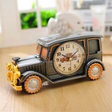 Desk Shelf Alarm Clock Antique Antique Car Gift for Kids Electronic Clock Easter