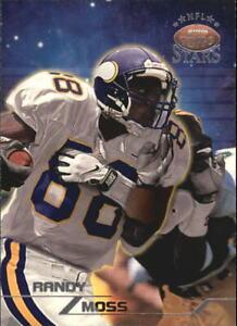 1998 Topps Stars Silver Minnesota Vikings Football Card #66 Randy Moss /3999