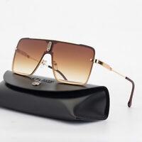 NEW Oversized Square Aviator Sunglasses Mens Driving Outdoor Shade Glasses UV400