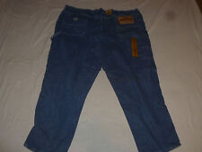 NEW WOMANS LEE DUNGAREES ORIGINAL STONE CARPENTER JEANS SIZE 54 X 32 NWT >>