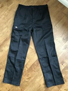 Dickies Redhawk Super Work Trousers WD884 Black 34R