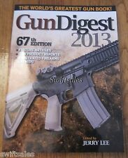 Gun Digest 2013 - 67th Edition - Firearms Reference Guide Book - Brand New!