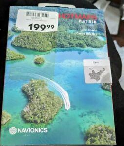 NAVIONICS HOTMAPS PLATINUM LAKE EAST Charts Box MSD/HMPT-E6NEW SEALED new