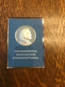 FOUR Franklin Mint Medals - Solid Sterling Silver