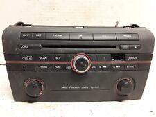 06 07 Mazda3 AM FM satellite 6-disc CD radio receiver OEM damaged button