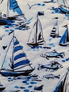 4x Lunch Paper Napkins Blue Sketch Boats for Decoupage Decopatch Craft 33 cm