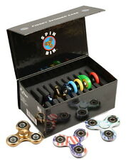 Regal Games Spin Bin Fidget Spinner Case Holds 10 Fidget Spinners Made in the US