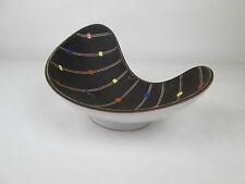 Original 1950er Jahre Design, Vase oder Schale, Confetti Dekor, seltenes Format.