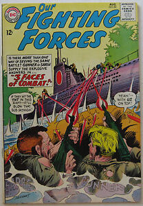 Our Fighting Forces #86 (Aug 1964, DC), VFN condition
