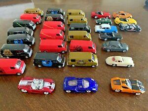 Lot of 1:87 Diecast Cars/Vans-GR-1 & Gtx-1 Concept, Enzo Ferrari and more   (59)