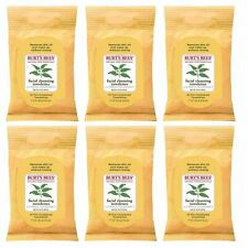 Burts Bees Towelettes, White Tea 10 Each (Pack Of 6)