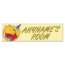 Personalized & Custom Winnie the Pooh Bedroom Poster Banner Decoration