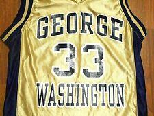 George Washington Colonials #33 Basketball Jersey, Youth Medium, NICE!!!