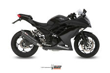 MIVV FULL SYSTEM EXHAUST FOR KAWASAKI NINJA 300 2013 > 2016 SUONO BLACK INOX