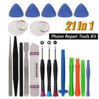 21 in 1 Mobile Phone Repair Tools Kit Spudger Pry Opening Tool Screwdriver New