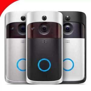 Wireless WiFi Smart Door Bell Ring HD Video Intercom Camera Bell Security CCTV