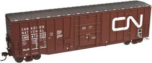 Atlas HO Scale NSC 50' Plug Door Box Car Canadian National/CN/Noodle #413020