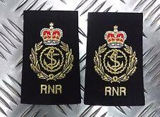 Genuine British Royal Navy RNR Chief Petty Officer CPO Rank Slides / Epaulettes