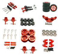 Red Upgrade Aluminum parts For Rc WL toys 1/28 K969 K989 P929 car DIY Parts
