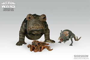 STAR WARS~BUBOICULLAAR CREATURE PACK~1/6 FIGURES~EXCLUSIVE~LE 1500~SIDESHOW~MIB