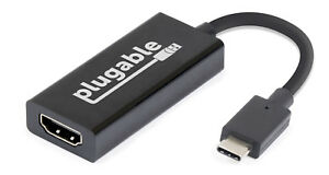 Plugable USB C to HDMI 2.0 Adapter (Supports Resolutions up to 4K@60Hz)