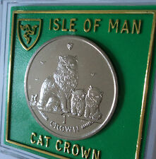 2005 Isle of Man Himalayan Breed Cat Crown Coin BU Collector Collecting Gift Set
