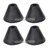 4pcs Loudspeaker Box Spike Feet Rubber Damping Isolation Stand Base Pad Φ50x36mm
