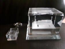 Collector item, 3D Crystal De Koel stadium from VVV Venlo & 3D Keychain light.