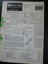 Original Service Manual  ITT Schaub  Lorenz Touring International Typ52150901