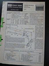 Original Service Manual  ITT Schaub  Lorenz Touring International Typ52150901