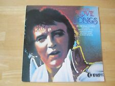 Elvis Presley LP,  Elvis Love Songs, K-TEL # NE 1062, Greece