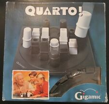Jeu de société Quarto Petit format - Pions en plastique - Gigamic