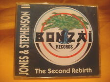MAXI Single CD JONES & STEPHENSON II The Second Rebirth 2TR 1994 BONZAI RECORDS