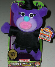 b613429b8c Sing A Ma Jigs electronic plush singing toy doll Halloween Witch Xmas Gift  new