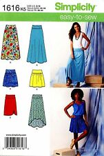 Simplicity Sewing Pattern 1616 Women's easy-to-sew Skirts 8-16 misses clothing