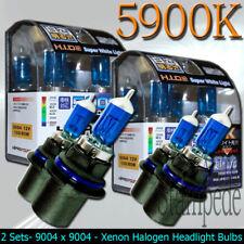 9004 XENON HID LIGHT BULB LOW/HIGH BEAM 2-PACKS - 5900K