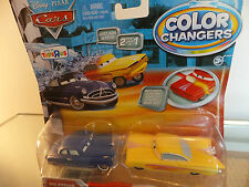 Disney Pixar Cars 2 Color/Cambiador De Color Ramone & Doc Hudson de Mattel T5662