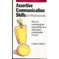 Assertive Communication Skills For Professionals On Audio Cassette
