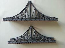 Brücke von Faller, H0, 2-teilig, Kunststoff, grün/braun