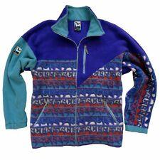 Vintage Retro SALEWA Fleece Track Top Jacket Mens 90'S XXL Mountain Outdoor