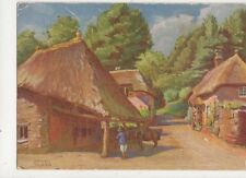 Cockington Forge Torquay Herbert Truman Old Postcard 483a