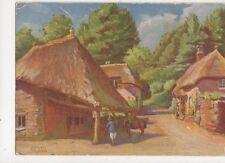 Cockington Forge Torquay Herbert Truman Old Postcard 483a