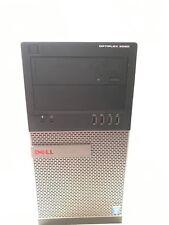 Dell OptiPlex 9020 MT  i7 4770 3.4GHz  16GB RAM 180 GB SSD 2 TB HDD - Win 10 Pro