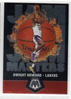 2019-2020 Panini Mosaic Basketball Jam Masters Insert Dwight Howard #20 Lakers