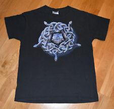 *1990-91 WHITESNAKE* rare vintage concert t-shirt (M) 1980s Tour Glam Rock Metal